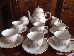 Különleges Hollóházi teás készlet