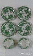 Számomora ritka kínai porcelán zöld sárkány