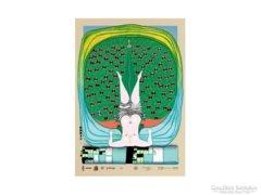 Hundertwasser,Friedensreich-Hommage an Schroeder Sonnenstern