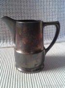 Original Wellner antik ezüst tartalmú tej kiöntő