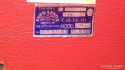 Supraphon GE071 Táskalemezjátszó