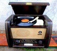 Antik, NECKERMANN lemezjátszós rádió az 50-es évekből