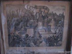 A magyar nemzet dicső vértanui mártír halálának 50 éves évf.