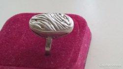 Gyönyörű régi kézműves ezüst gyűrű