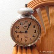 Működőképes, régi HALLER óra, ébresztő, vekker