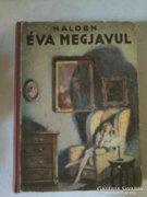 Régi ifjusági könyv, E. Halden: Éva megjavul