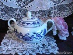 Csehoszlovak porcelán cukortartó