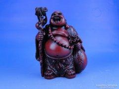 0D726 Nevető Buddha szobor keleti dísztárgy
