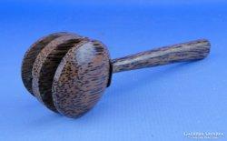 0D506 Spanyol népi hangszer fából KASZTANYETTA