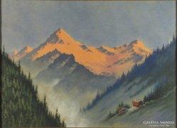 Véber Ernő : Alpesi fény