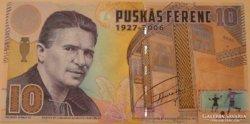 Puskás Ferenc bankjegy - RITKA DARAB !