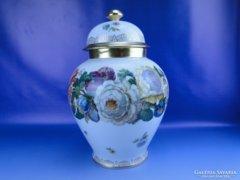 0D830 Régi nagyméretű BAVARIA porcelán váza urna