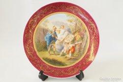Antik Alt Wien tányér