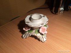 Porcelán gyertyatartó
