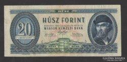 20 forint 1947.  NAGYON SZÉP !!!  RITKA!!!