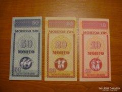 *** UNC Mongol Tugrik sor ***