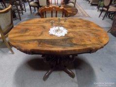 Antik Biedermeier Szalonasztal