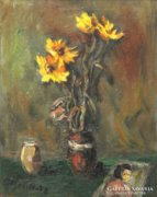 Bornemissza jelzéssel : Virágok vázában