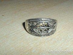 Régi Díszes mint.Tibeti ezüst gyűrű 2.