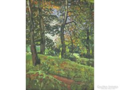 Európai művész, 1927 : Erdőben 1927