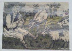 FARKAS: Furujás és a kecskék
