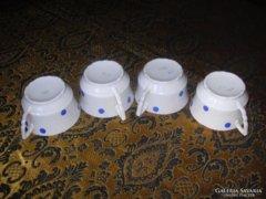 Zsolnay Kékpettyes Csészék