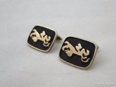 5736 Elegáns aranyszínű mandzsetta pár