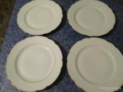 4 db lapos tányér 25 cm 500/db