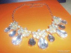 LUXUS Swarovsky Crystal CSEPP 18k  Nyakék