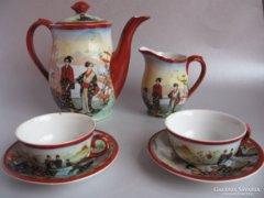 Antik teáskészlet (GD Paris)