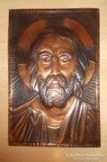 Réz falikép 42x29 cm