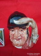 Royal Doulton Gone Away Majolika Jellegű Figurális Váza