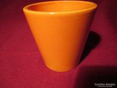 7.5 cm narancs színű váza