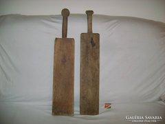 Régi mángorló - két darab - együtt eladó