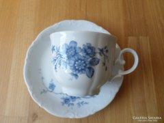 Mitterteich Bavaria porcelán csésze alátéttel