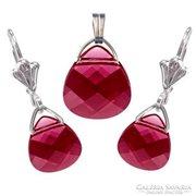 Swarovski kristály 10-15,4mm-es briolett szív szett
