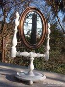Asztali tükör-pipere tükör-borbély tükör Akció !