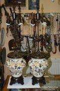 Zsolnay asztali lámpák