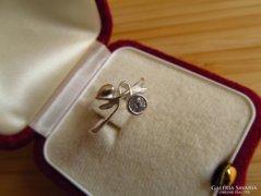 Szecessziós ezüst gyűrű - szép!