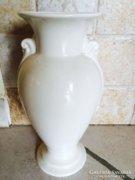 Zsolnay nagy fehér váza 1911-1922 évekből