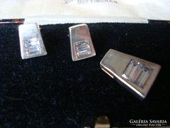 Modern ezüst szett cirkóniával