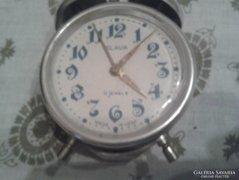 Retro Slava csörgő,ébresztő óra