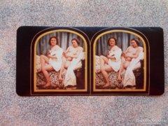 Stereo Foto Nude Act,retro,repro