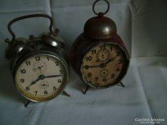 Junghans antik  wekker...(pirosra festett)