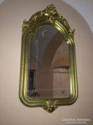 Gyönyörü faragott keretben, nagymeretü velencei tükör