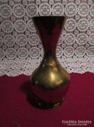 Indiai réz váza 14 cm