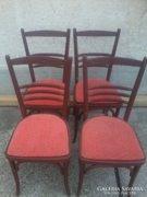Régi hajlított fa székek 4db