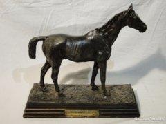 3788 Antik öntöttvas ló szobor