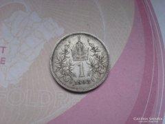 1893 ezüst 1 korona