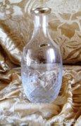 24 x 5 cm magas kristály palack